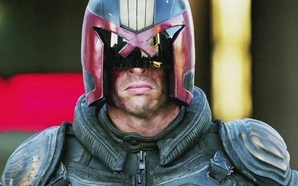 Karl Urban as Judge Dredd